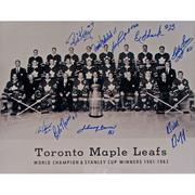 1962 Toronto Maple Leafs Autograph Photo