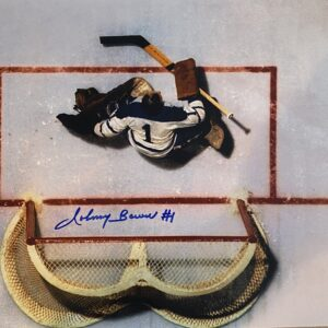 Johnny Bower Autographed Photo